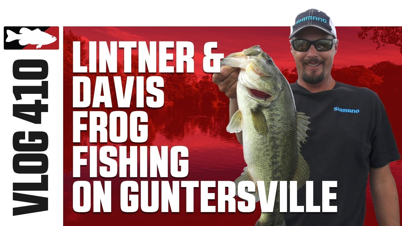 Jared Lintner and Alex Davis Frog Fishing on Guntersville Pt. 2 - Tackle Warehouse VLOG #410