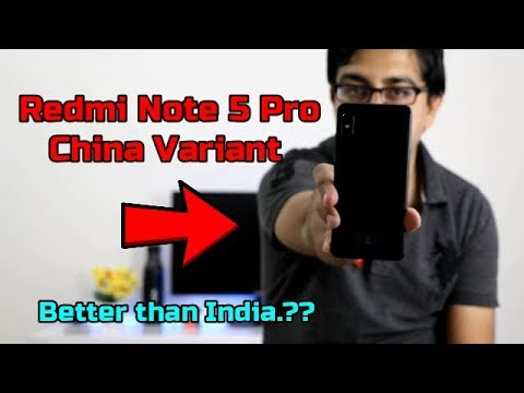 Redmi Note 5 Pro China Launch Better Than Indian Variant..???