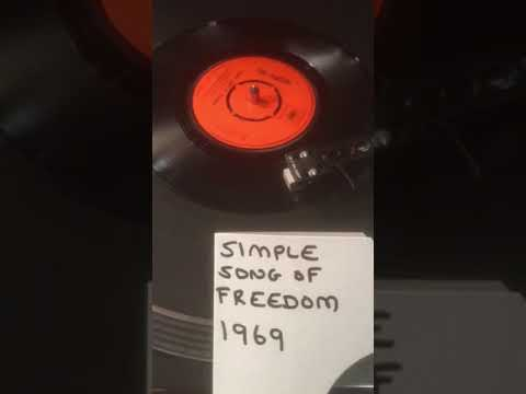 Tim Hardin - Simple Song Of Freedom From 1969 ( Vinyl 45 ) .