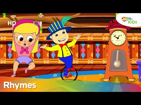 Hickory Dickory Dock (HD) | More Nursery Rhymes & Kids Songs | Shemaroo Kids