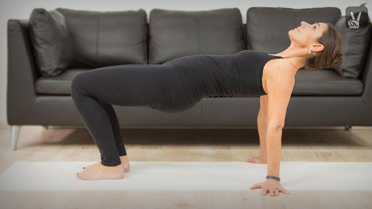 Balance At Work: Übungen für den oberen Rücken - YouTube