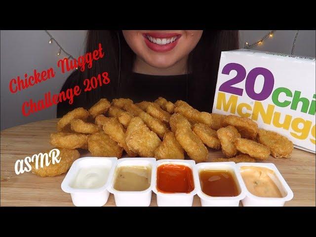 Asmr Mcdonalds Chicken Nuggets Challenge By Auzsome Austin No Talking