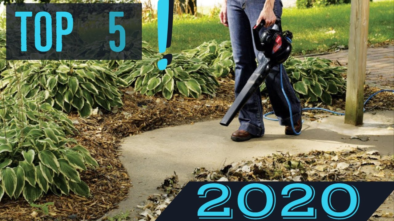 Best Cordless Leaf Blower 2020.Top 5 Best Leaf Blower In 2020 Cordless Electric Budget