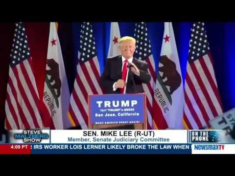 Malzberg | Sen. Mike Lee discusses his concerns about Donald Trump