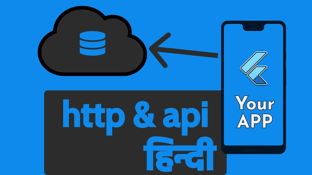 Flutter Http Request And Custom API   In Hindi By Desi Programmer