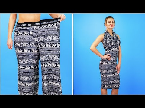 8 BRILLIANT CLOTHES HACKS FOR GIRLS    Cool DIY Ideas 8
