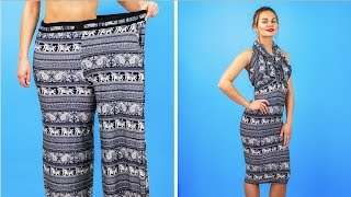 8 BRILLIANT CLOTHES HACKS FOR GIRLS || Cool DIY Ideas thumbnail