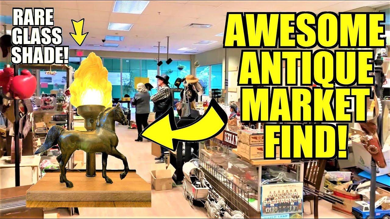 Ep295: GOODBYE CENTENNIAL MALL COLLECTOR'S MARKET!  😥😥 - The ORIGINAL GoPro Antiquing Vlog!