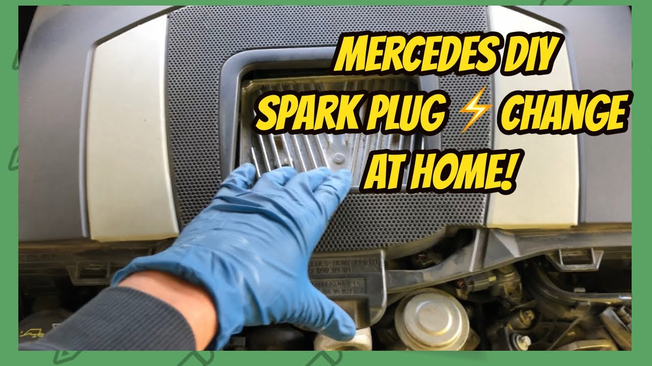 Mercedes M267 spark plugs replacement by JP EURO