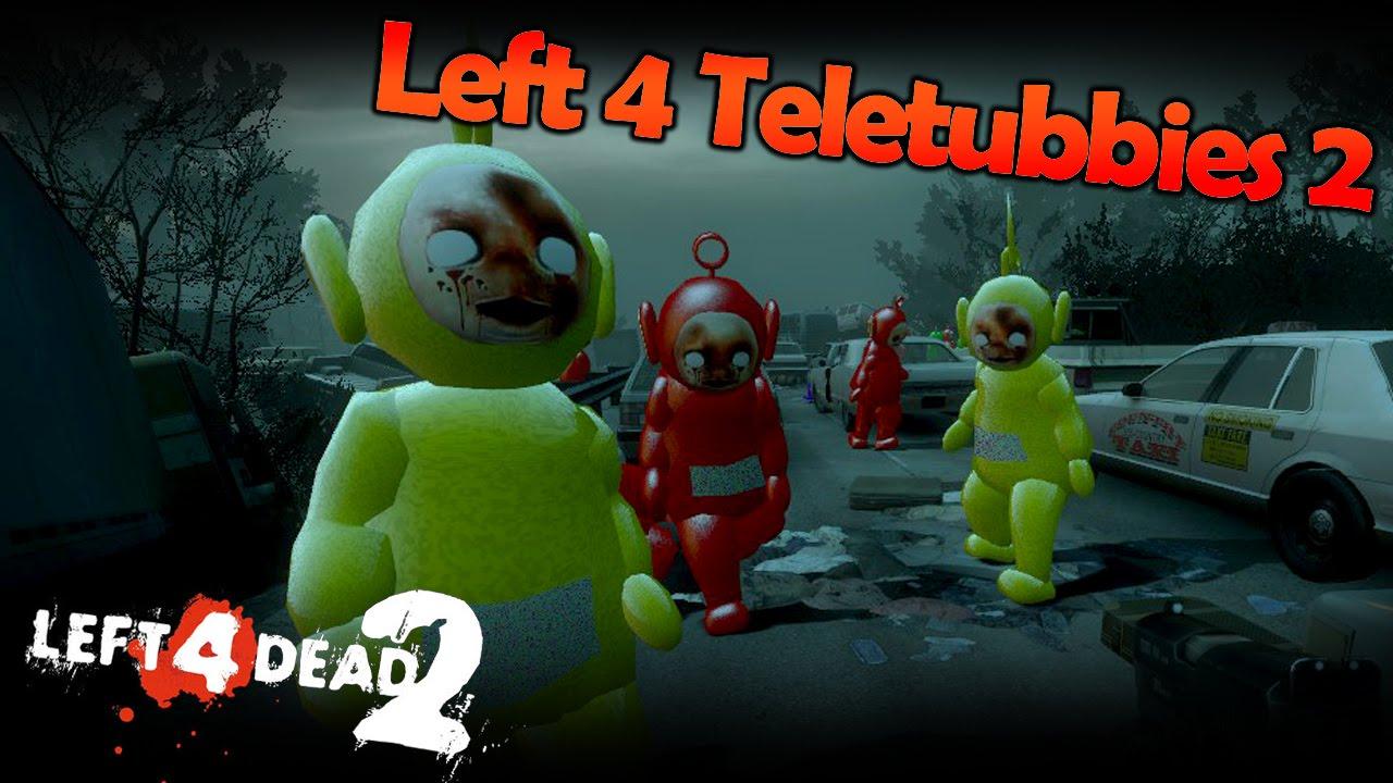 Left 4 Teletubbies 2 Massacre! (Left 4 Dead 2 Mod)