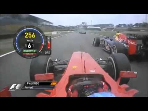 F1 2012 Round 20 On Board Brazil Grand Prix