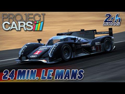 24 MIN. LE MANS | Project CARS [HD] [GER] AUDI R18 TDI @ Circuit De 24 Heures