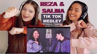 Download Mp3 Reza Darmawangsa DJ TIKTOK SING OFF TIK TOK MEDLEY vs SALMA REACTION