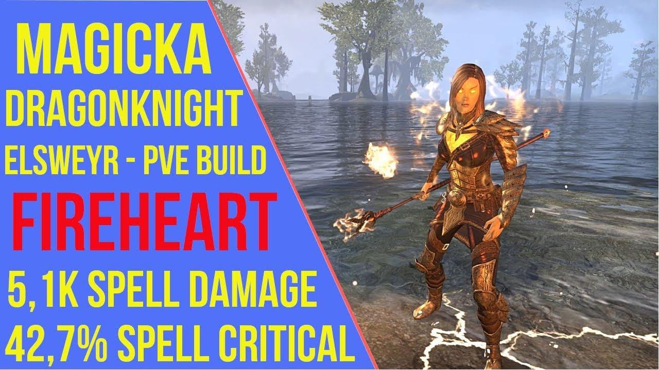 Magicka Dragonknight PVE Build ESO - ArzyeLBuilds