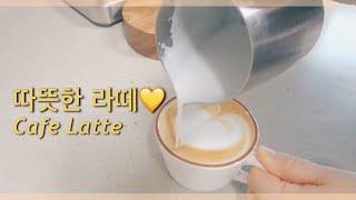 [홈카페] 따뜻한 라떼ㅣ브레빌 870ㅣ브라운백 커피
