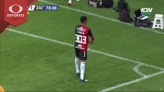 Gol de Christopher Trejo   Atlas 1 - 1 Zacatepec   Copa MX - A18 - J1   Televisa Deportes