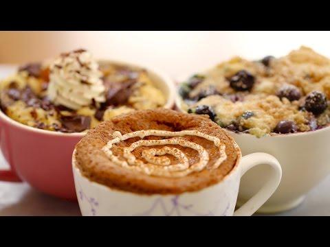 1 Minute Microwave Mug Breakfasts (with Egg-Free recipes) - Gemma's Bigger Bolder Baking Ep 76