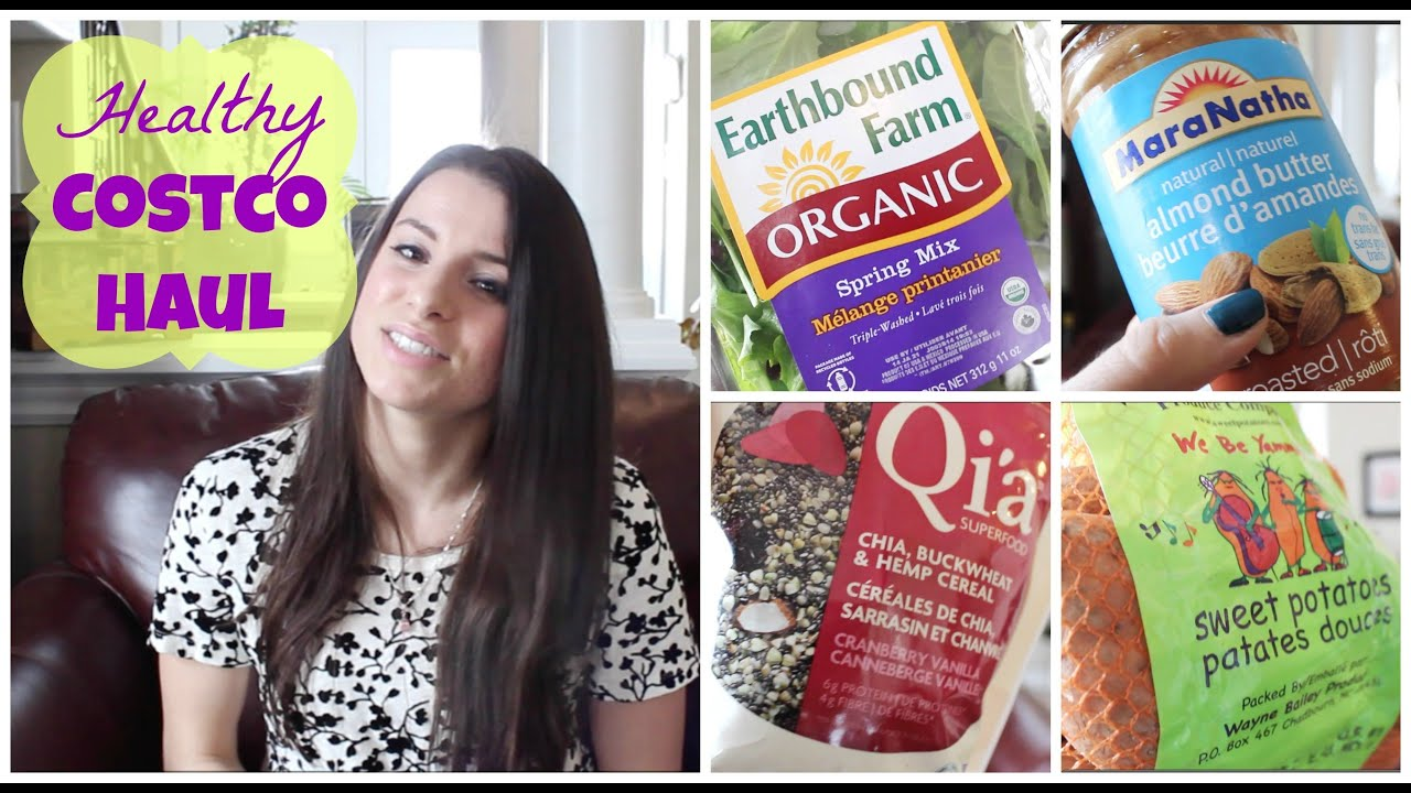 ♥ Healthy Costco Haul! ♥ Gluten Free, Dairy Free & Organic Foods!