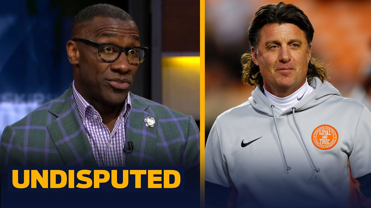 Shannon Sharpe speaks on the Mike Gundy investigation at Oklahoma State   UNDISPUTED