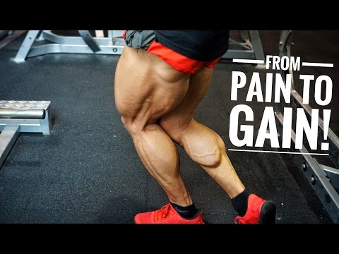 FROM PAIN TO GAIN | COMPLETE QUAD AND CALF WORKOUT! Cant Walk...