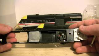 oorail.com | Hornby HST Class 43 Chassis Swap (oo gauge model railways)