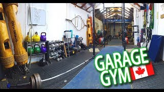 Garage Gym Canada! BEFORE | AFTER