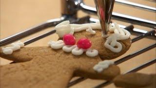 Gingerbread People Cookies HD