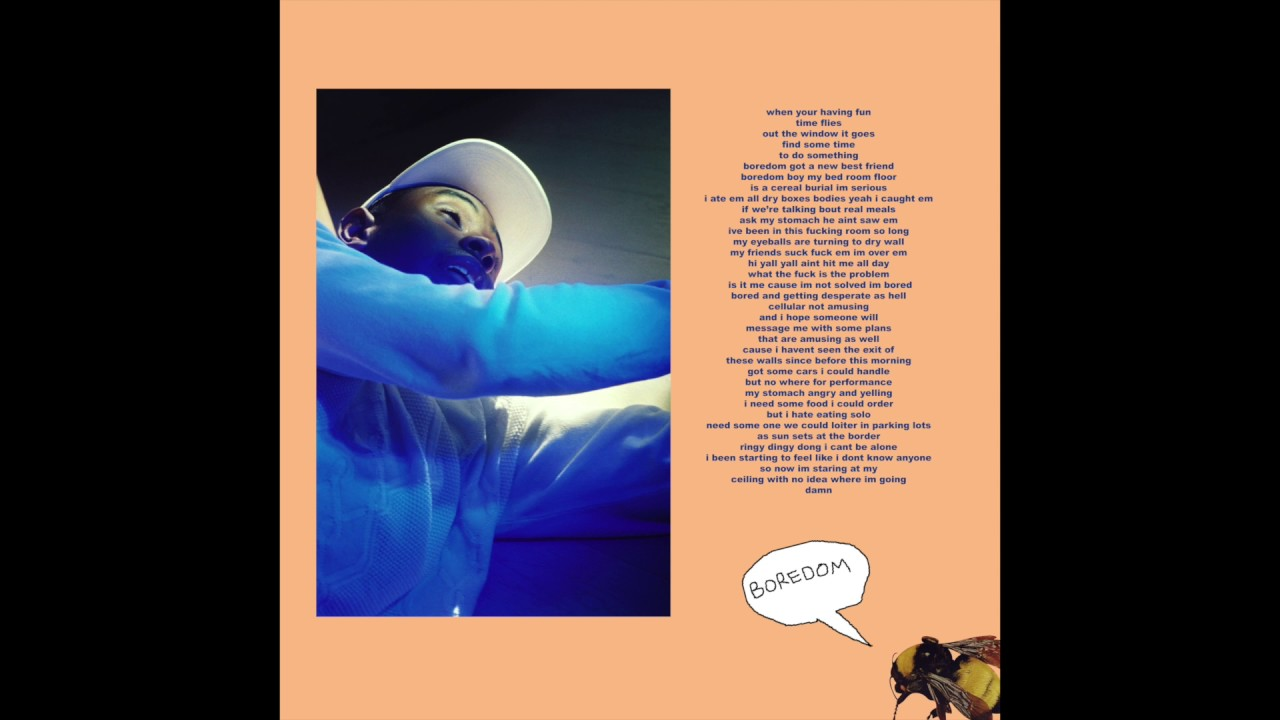 Tyler, The Creator - Boredom (Audio)
