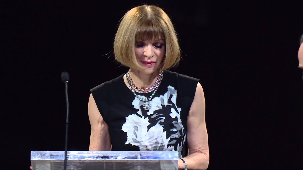 Anna Wintour - Outstanding Achievement Award