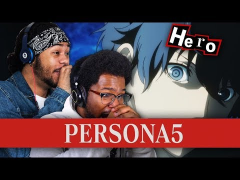 BRAH! THIS ANIME IS PERFECT! Persona 5 The Animation Episode 1 (LIVE REACTION) #AnimeHour