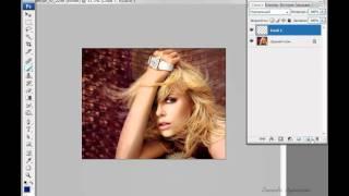 Photoshop - Весенний аромат (урок 38)