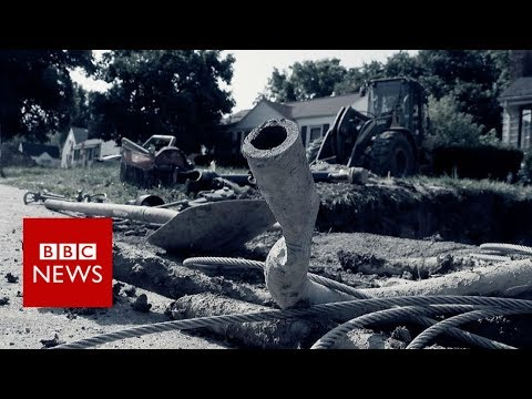 Why millions of Americans could be drinking bad water - BBC News