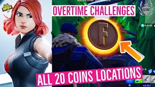 HOW TO Collect Coins in Featured Creative Islands! Fortnite SEASON 8 OVERTIME CHALLENGES GUIDE!