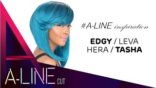 A-LINE cut collection by Zury