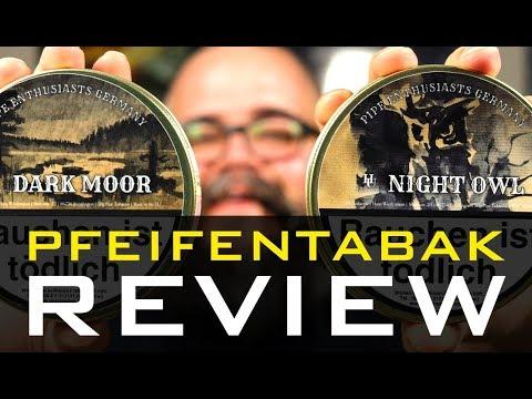 Pfeifen rauchen - HU TOBACCO - NIGHT OWL & DARK MOOR - Pfeifentabak Review