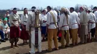 Stomp Dance Demonstration at Chickasaw Culture Center, Living Village