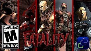 Mortal Kombat X Android iOS - All Story Mode Fatalities