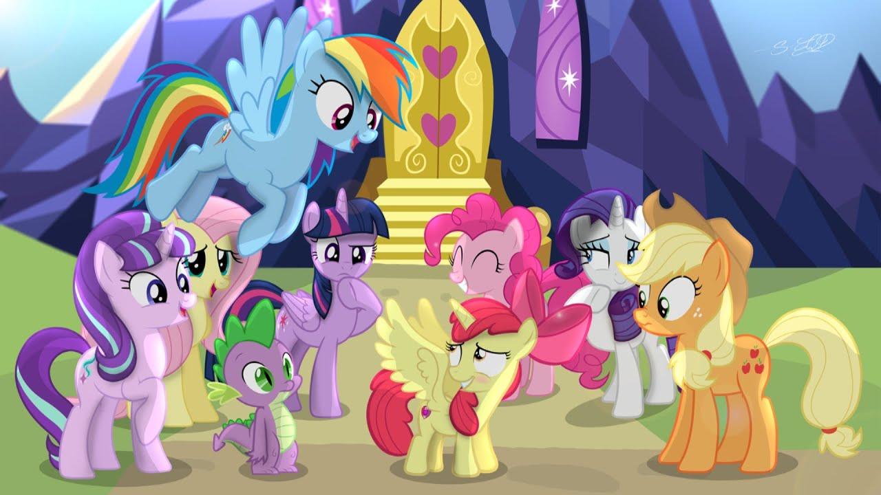 My little pony friendship is magic season 6 episode 13 stranger than fan fiction release date for Little pony watches