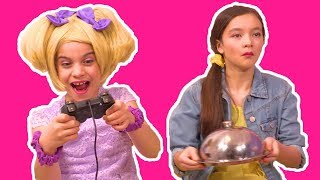 MAGIC HUMAN GAMING CONTROL 🎮 Princess power is too strong! - Princesses In Real Life | Kiddyzuzaa
