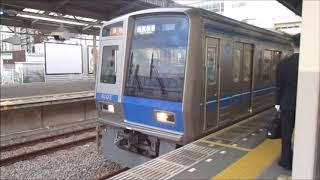 西武6000系6102F 急行 西武新宿ゆき 新所沢発車