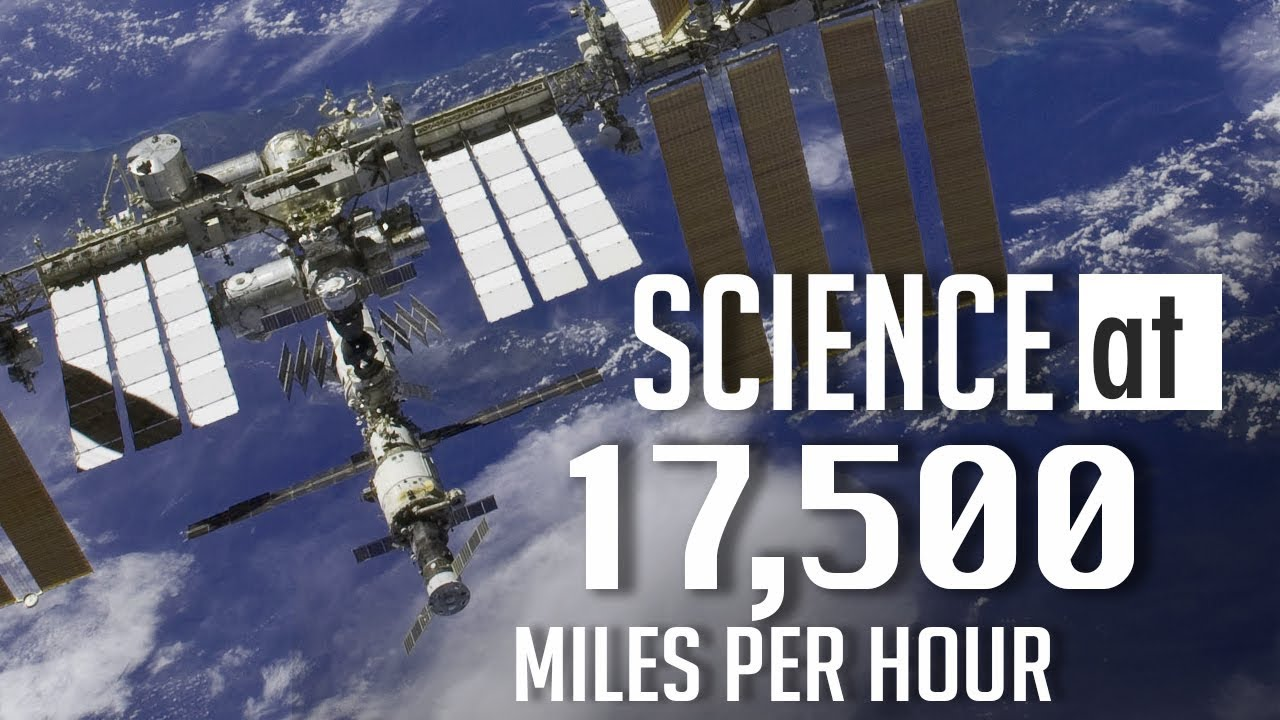 Space Station Science at 17,500 Miles Per Hour