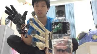 Arduino robot hand wireless controlled