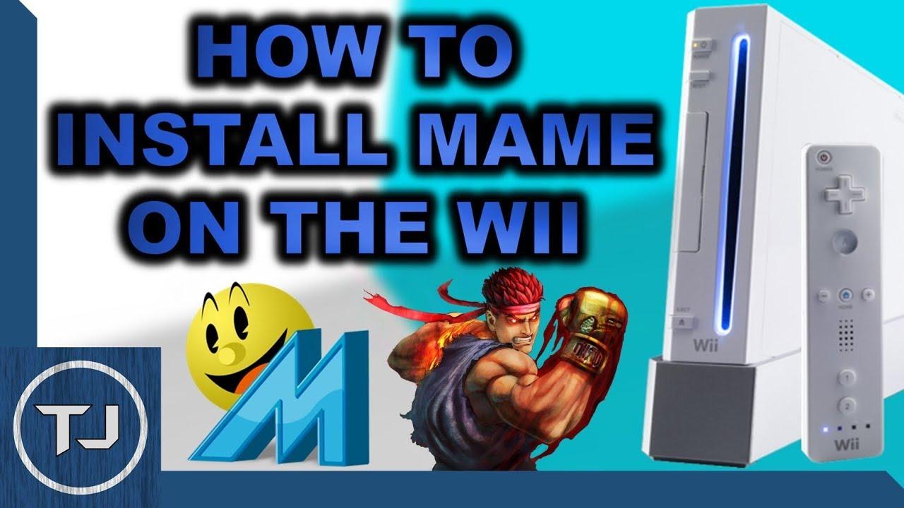 How To Install & Setup The MAME Emulator For Wii!