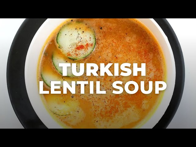 EASY TURKISH LENTIL SOUP RECIPE | Vegan Soup Recipe | Vegan Richa Recipes