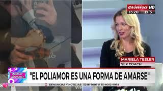 """Marieal Tesler, sex coach: """"El poli amor no es solo sexo"""""""