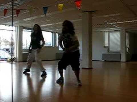 NILA AND ESTHER DANCING ON CHRIS BROWN  FALLEN ANGEL