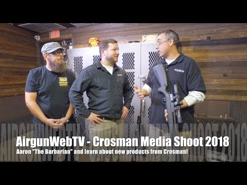 Crosman's Fist Annual Media Event 2018 - Learn about what's new from Crosman!