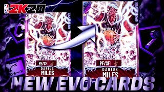 INSANE *NEW* EVO CARDS HAVE BEEN ADDED TO NBA 2k20 MyTEAM! BUDGET GEMS TURNED OPAL BEAST!