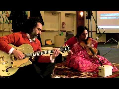 Subhadra Vijaykumar & Vikas Kohli perform Carnatic & Western fusion at the And Still We Rise Gala