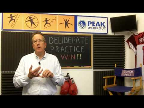 Use Deliberate Practice Just Like Olympic Athletes - Peak Workout